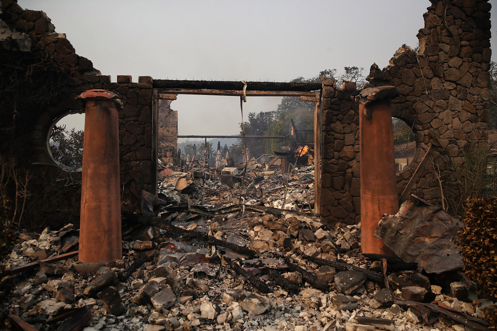 27 Wineries Damaged Or Destroyed By Recent Fires photo