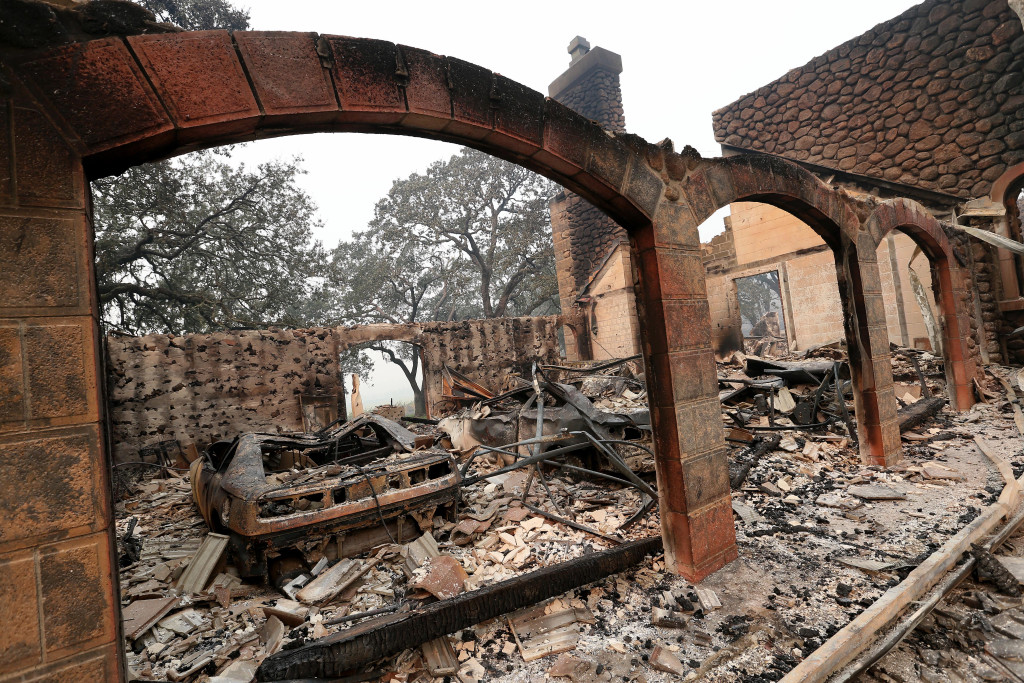 Wine Country In Ruins: An Inside Look At Wineries Impacted By Fires photo