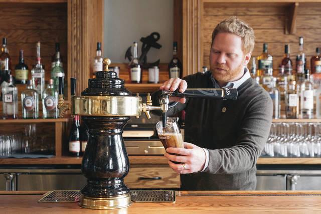 Guinness Brewery Ambassador Presides Beer Dinner At Alton?s Morrison?s Irish Pub photo