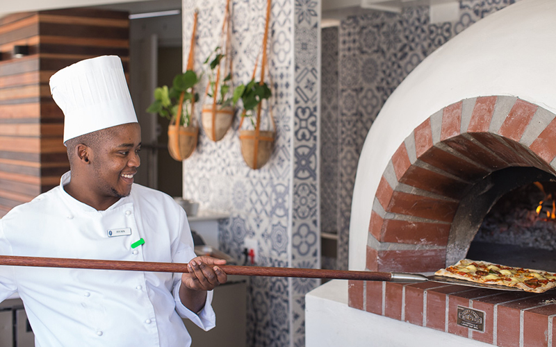 The Base wood-fire pizza restaurant opens at The President Hotel photo