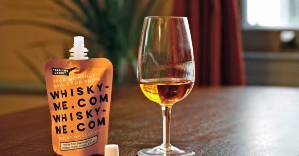 This whisky comes in a pouch like the Capri Sun you drank as a kid photo