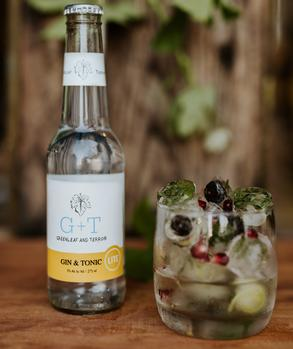 A Gin And Tonic Distilled With Pinotage photo