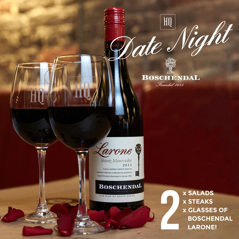 HQ Launches #HQDateNight with Boschendal Wines photo