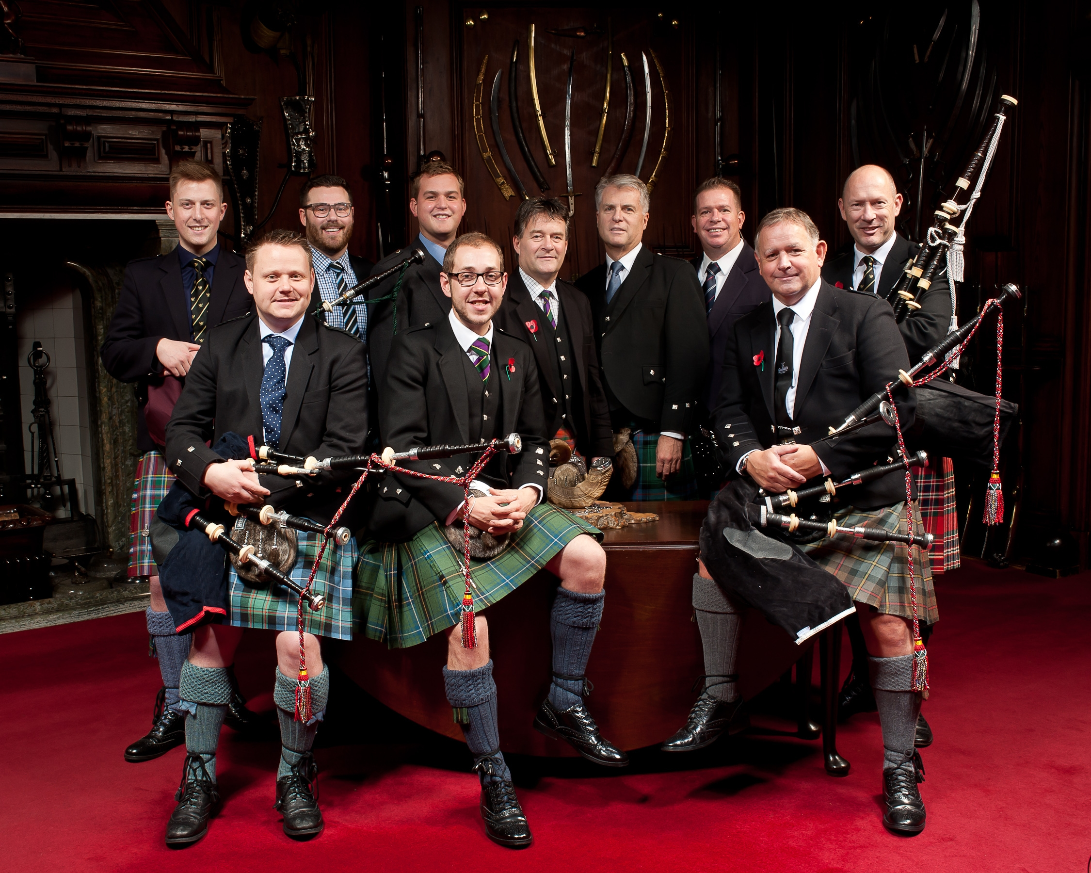 Jack Lee Wins The 44th Glenfiddich Piping Championship photo