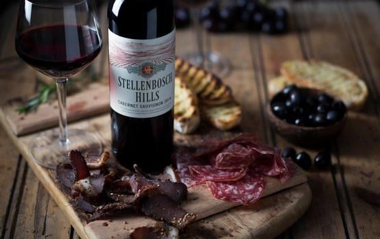 A Biltong, Bacon And Wine Tasting At Stellenbosch Hills photo