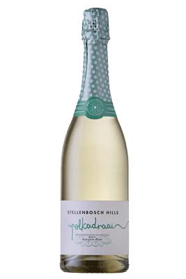 STB Hills Polkadraai Brut Spinach and Artichoke Nachos paired with Sparkling Wine