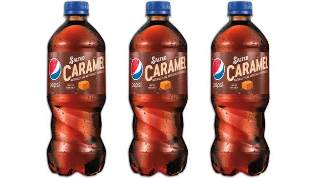 Pepsi Is Releasing A Salted Caramel Version And The Internet Has Some Feelings About It photo