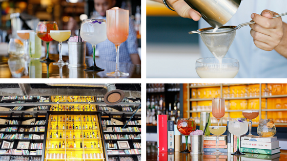 Social Kitchen and Bar Immerse yourself in a book inspired cocktail taste sensation this summer