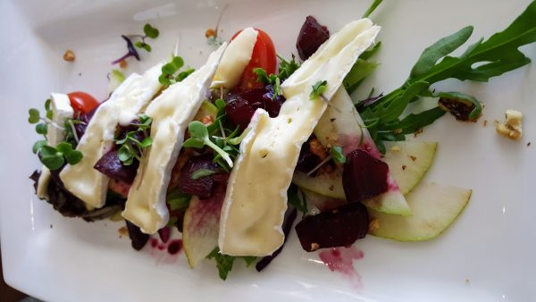 beet salad e1511950648353 On the Rocks Restaurant Launches New Menu To Match Its Spectacular View