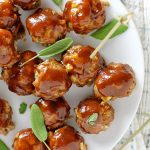 Maple-Glazed Breakfast Meatballs photo