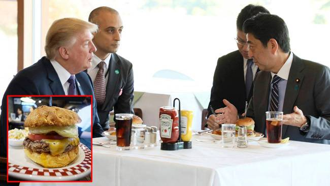'i Had The Same Burger As Trump'; People Line Up In Japan To Eat Burger Enjoyed By President Donald Trump photo