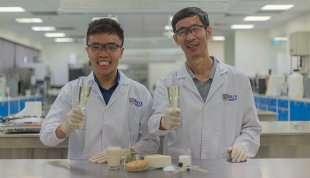 Singapore Researchers Have Developed The World`s First Booze Made From Tofu photo