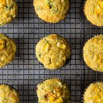 Corn, Quinoa and Cheddar Muffins photo