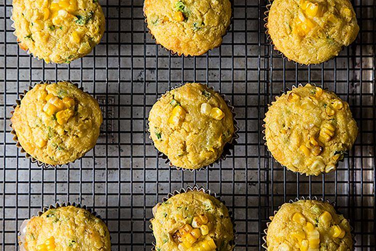 Corn, Quinoa and Cheddar Muffins photo