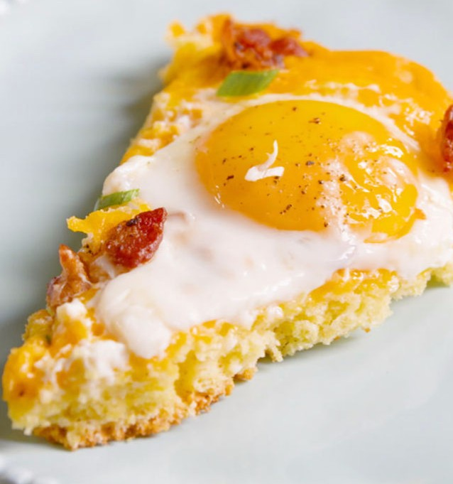 The Best Cornbread Breakfast Pizza You Will Ever Eat photo