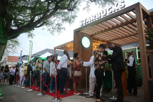What Happened At The Starbucks Launch In Durban #starbucksxdurban photo