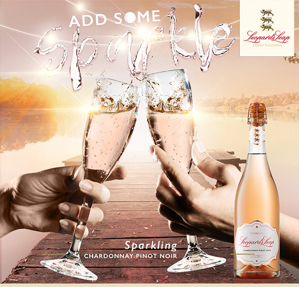 Add sparkle to your life with this new Sparkling Chardonnay Pinot Noir from Leopard`s Leap photo