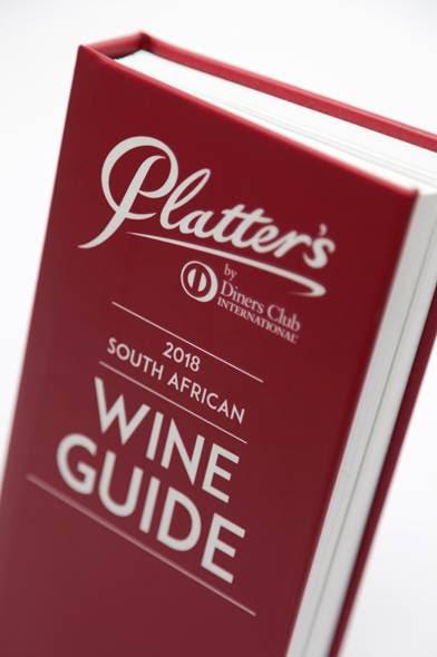 paltter 1st Platter Five Star Rating for Orange River Cellars