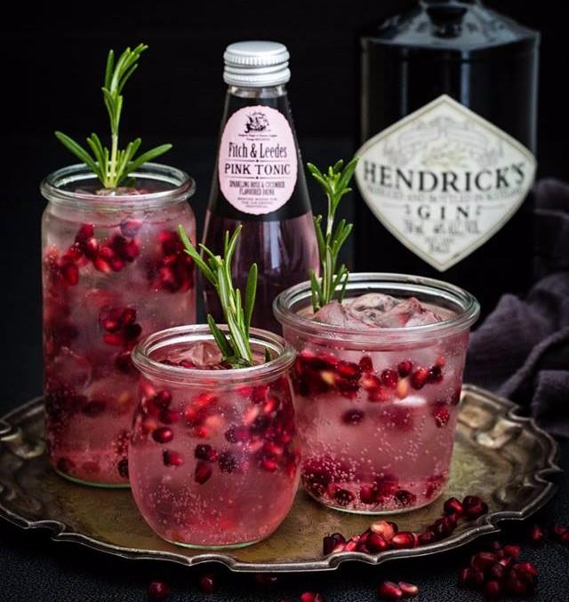 How to make a Pinktastic Hendricks Gin and Tonic photo