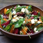 Roasted Beetroot with Bacon and Rocket Aioli photo