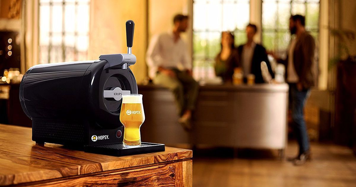 Bring The Bar Home With This Draft Beer System That's $39 Off photo