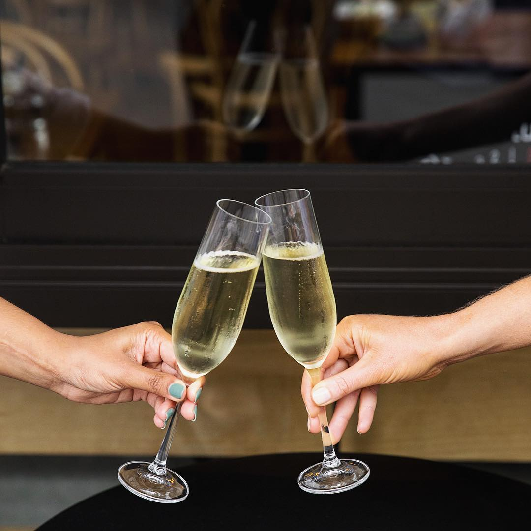 This Is Why You Should Always Drink Champagne From A Glass photo