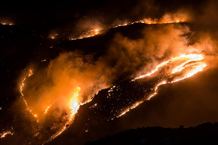 Watch: Fire On The Bainskloof Pass Burns Out Of Control photo