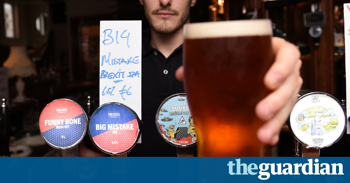 'so British It Even Tastes Great Warm' – The Breweries Inspired By Brexit photo