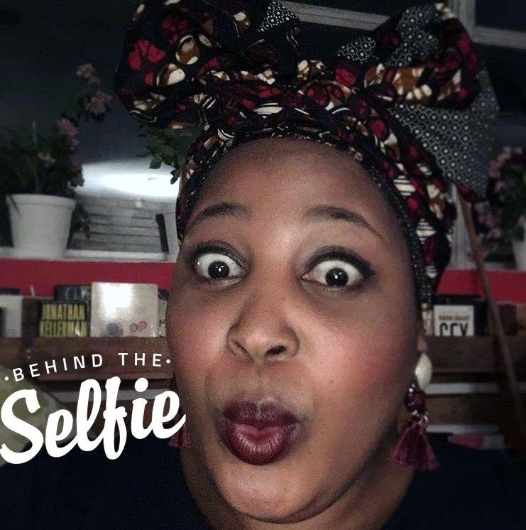 #behindtheselfie With… Zola Nene photo