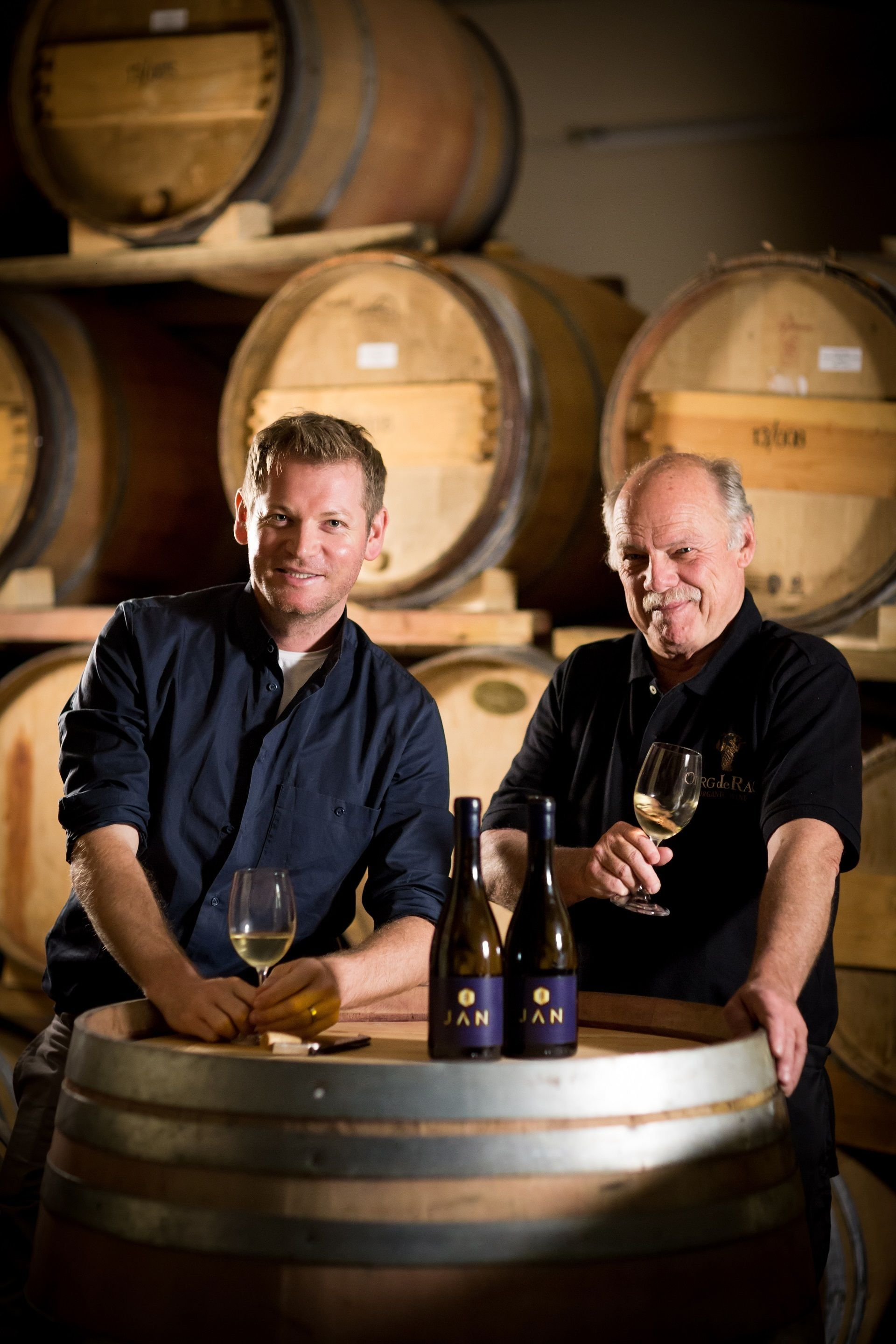 Chef Jan Hendrik Crafts Two Wines Under His Own Label photo