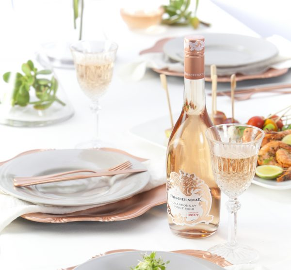 Boschendal Chardonnay Pinot Noir: A beautiful blush for a summer bash photo