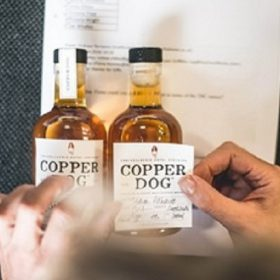 Copper Dog Launches Bottle-personalisation Service With Selfridges photo