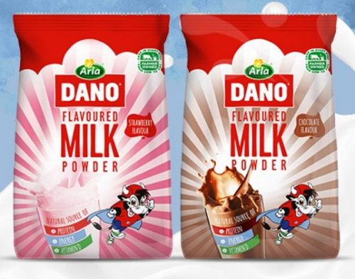 Arla Dano Adds Excitement To Milk Taste With The Introduction Of Chocolate And Strawberry Flavours photo