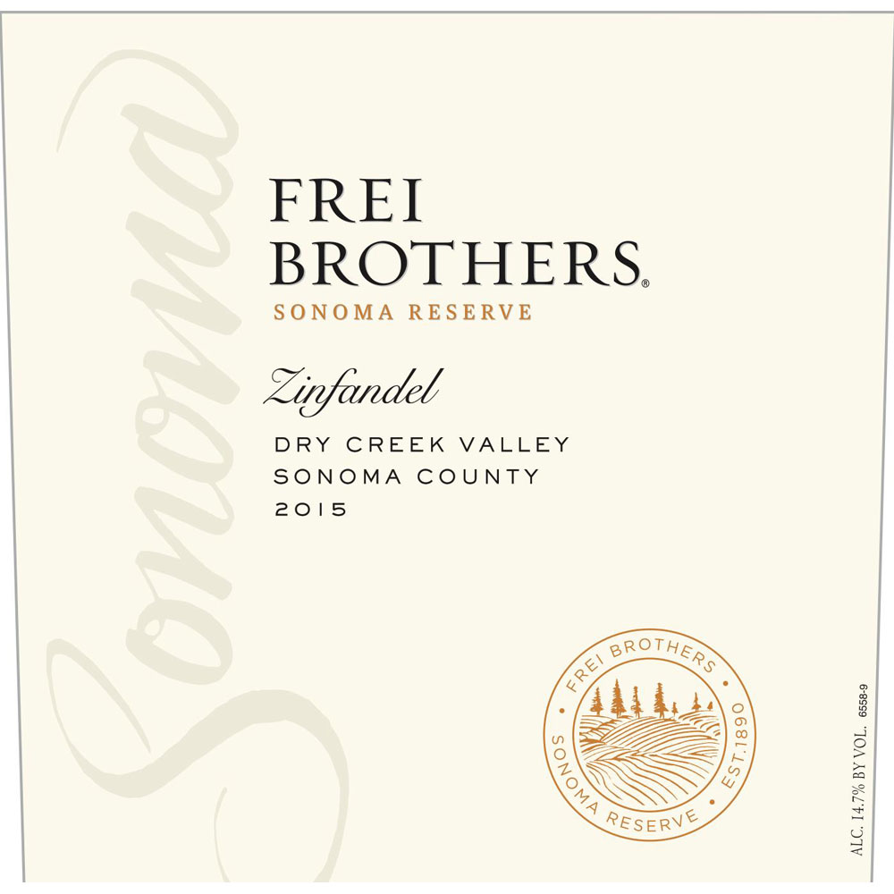 What We?re Drinking ? Frei Brothers ?sonoma Reserve? Zinfandel photo
