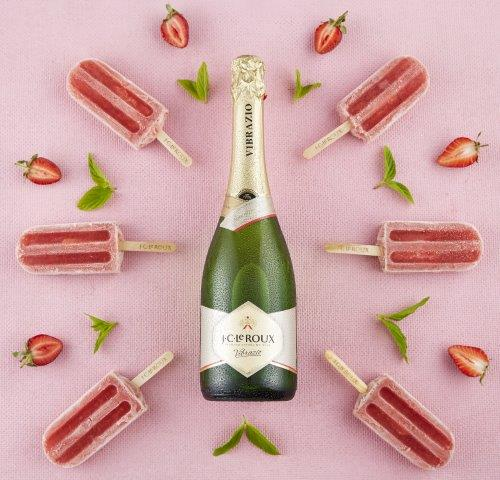 Make Your Own Wine Popsicles photo