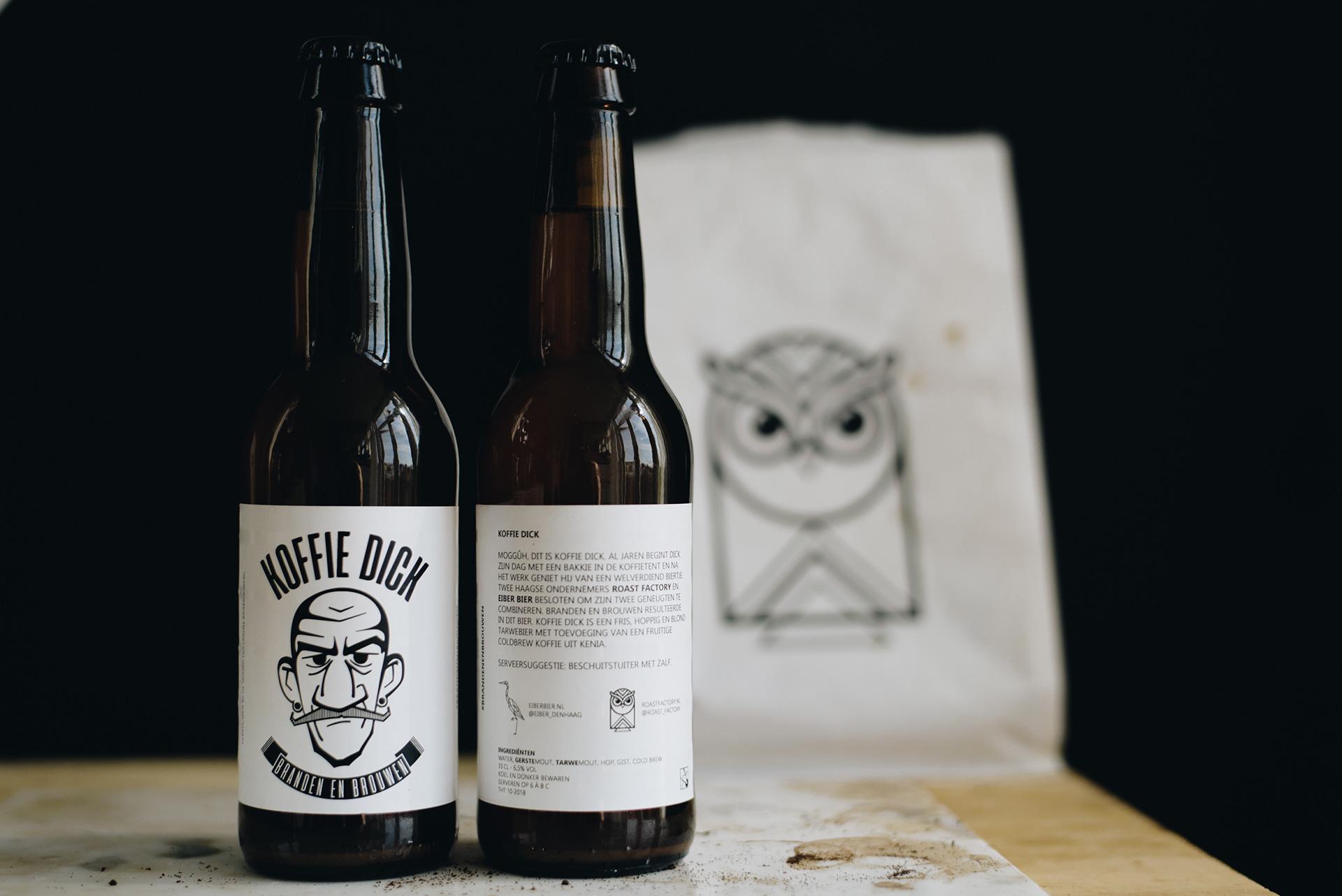 "Coffee Beer: ""koffie Dick"" By Roast Factory And Eber Bier photo"