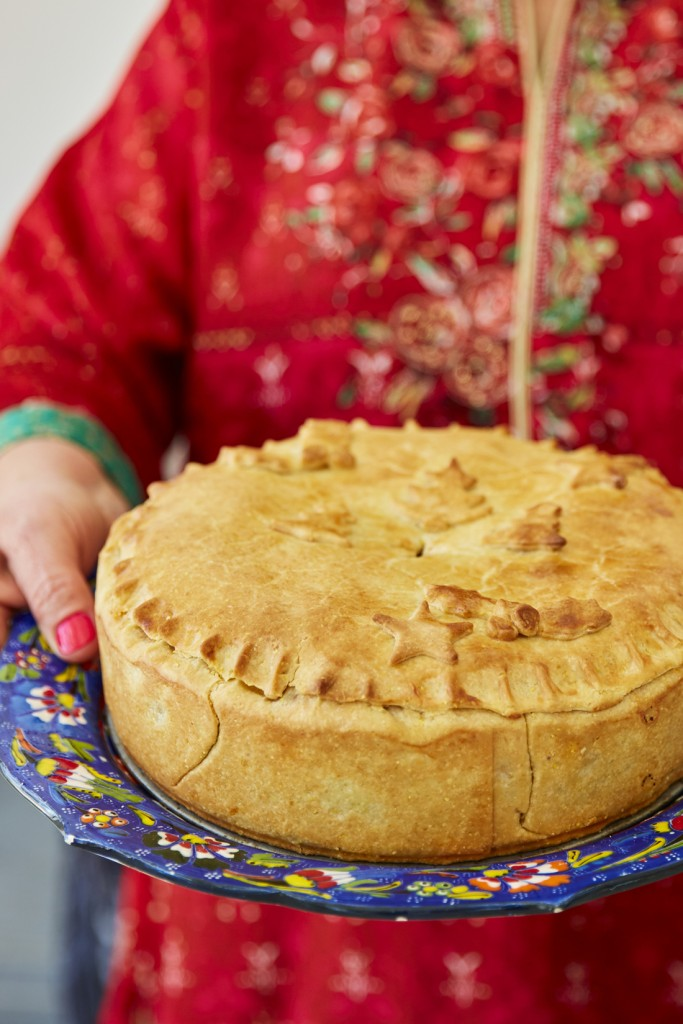How To Make A Vegetarian #christmas Pie photo
