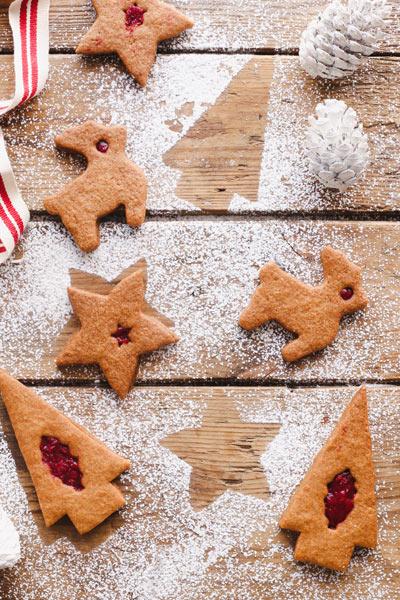 Christmas Raspberry Jolly Jammers photo