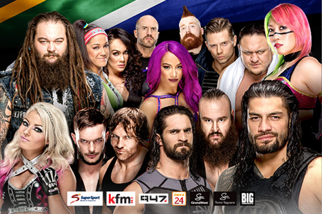 Wwe Live In Cape Town photo
