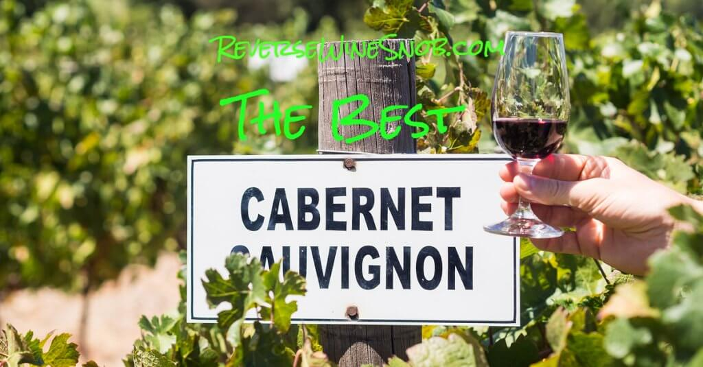 The Best Cabernet Sauvignon Under $20 photo