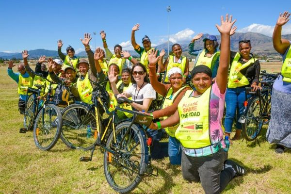 Nederburg and Team Dimension Data Bring Positive Change to Paarl photo