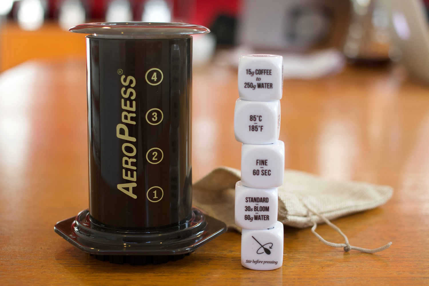 Casting Micro-lots: Aeropress Coffee Brewing Dice By James Hoffmann photo