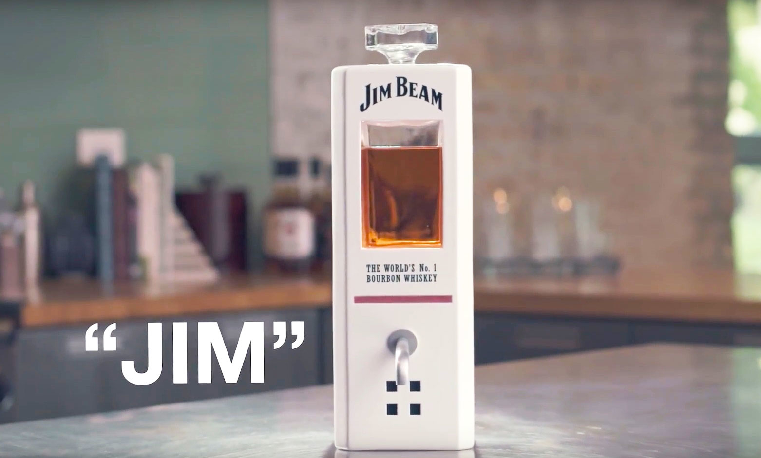 Jim Beam Has Created A Voice-controlled Smart Decanter That Pours On Command photo