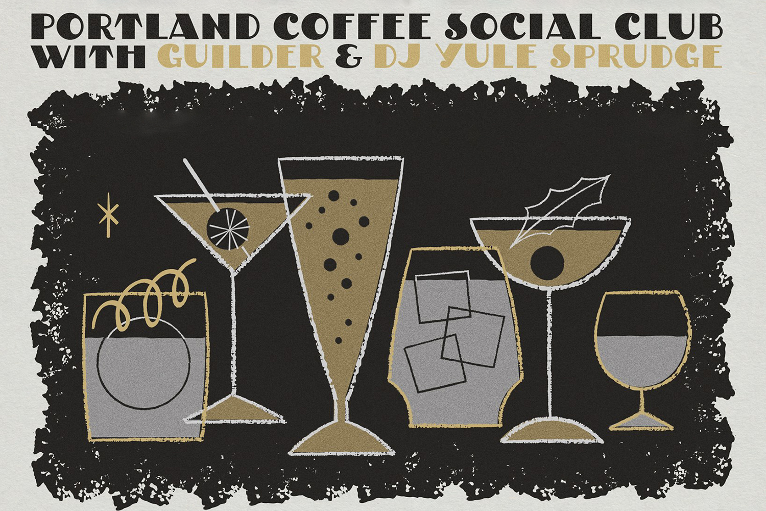 Saturday: Join The Portland Coffee Social Club For A Holiday Cocktail Party photo