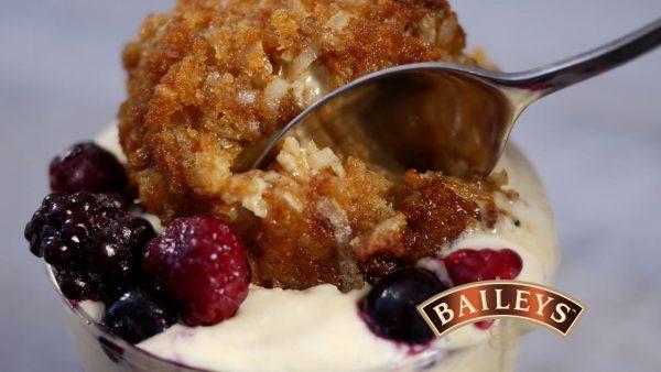 Deep Fried Baileys Ice Cream photo