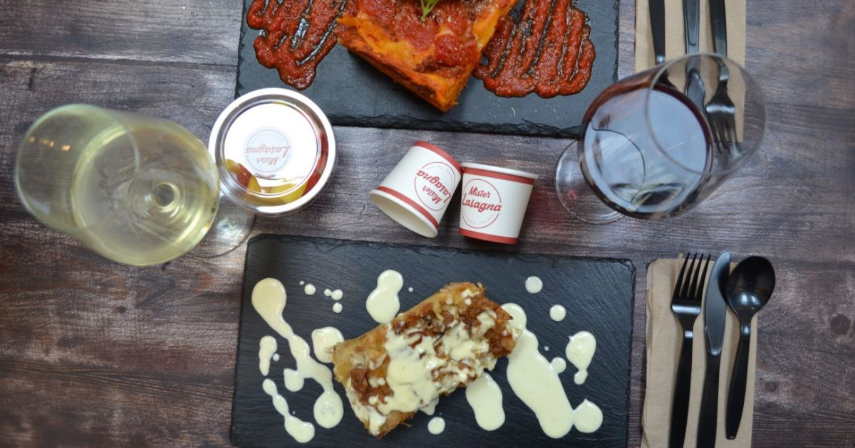 Someone's Created A Christmas Dinner Lasagna And We Don't Know What To Think photo