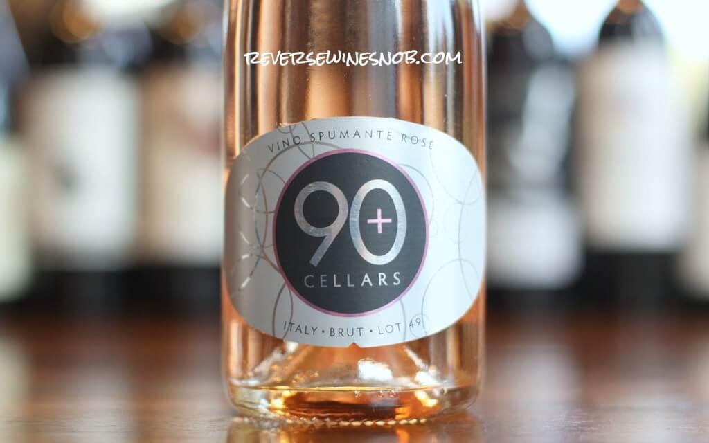 90 Plus Cellars Lot 49 Sparkling Rosé photo