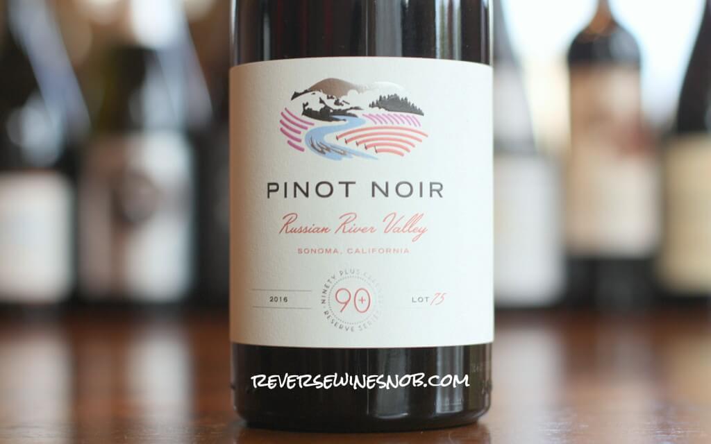 90 Plus Cellars Russian River Valley Pinot Noir Lot 75 photo