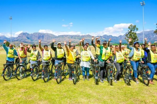 paarl bikes e1512540534508 Nederburg and Team Dimension Data Bring Positive Change to Paarl