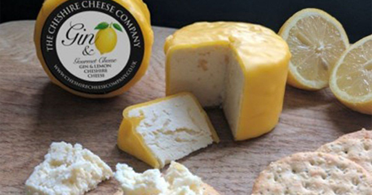 Gin Flavoured Cheese Is Here To Give Your Christmas Cheeseboard A Boozy Kick photo